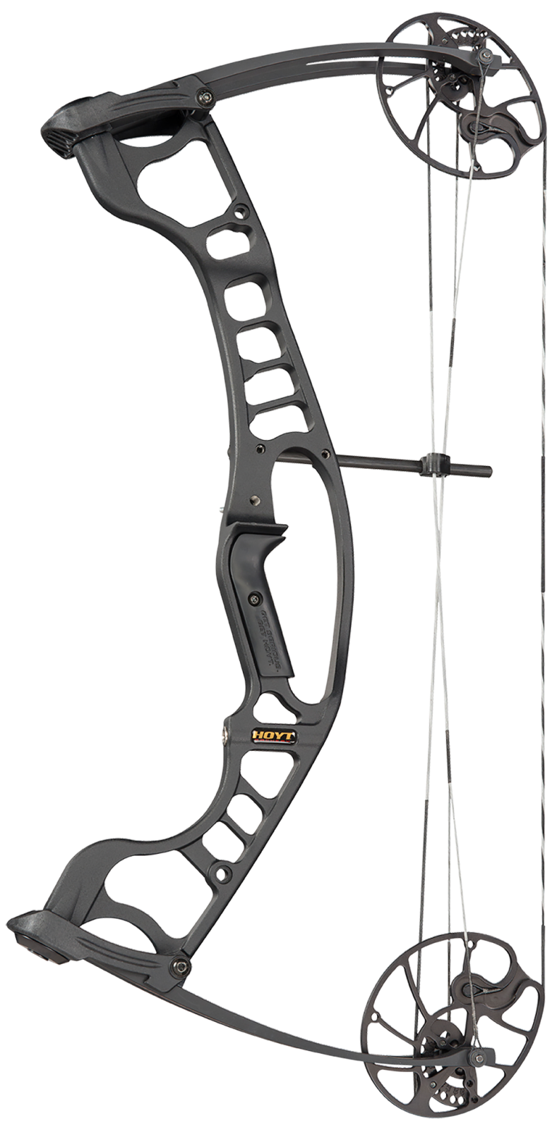 image black and white library Hoyt ignite compounf compound. Archery bow clipart.
