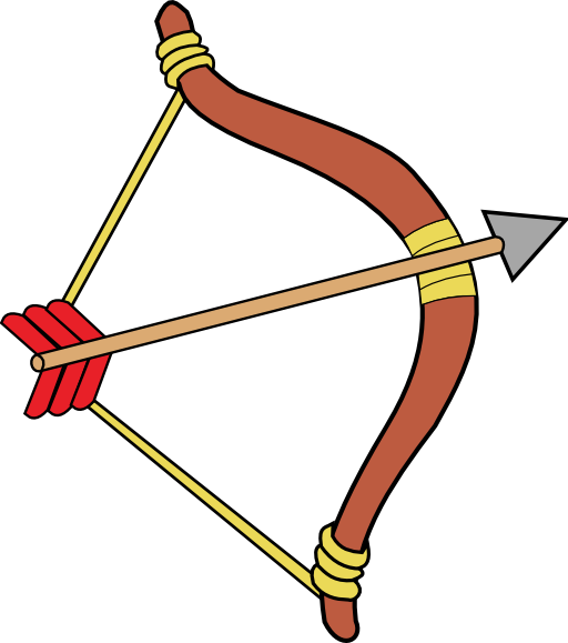 svg download Archery Bow Clipart Archer