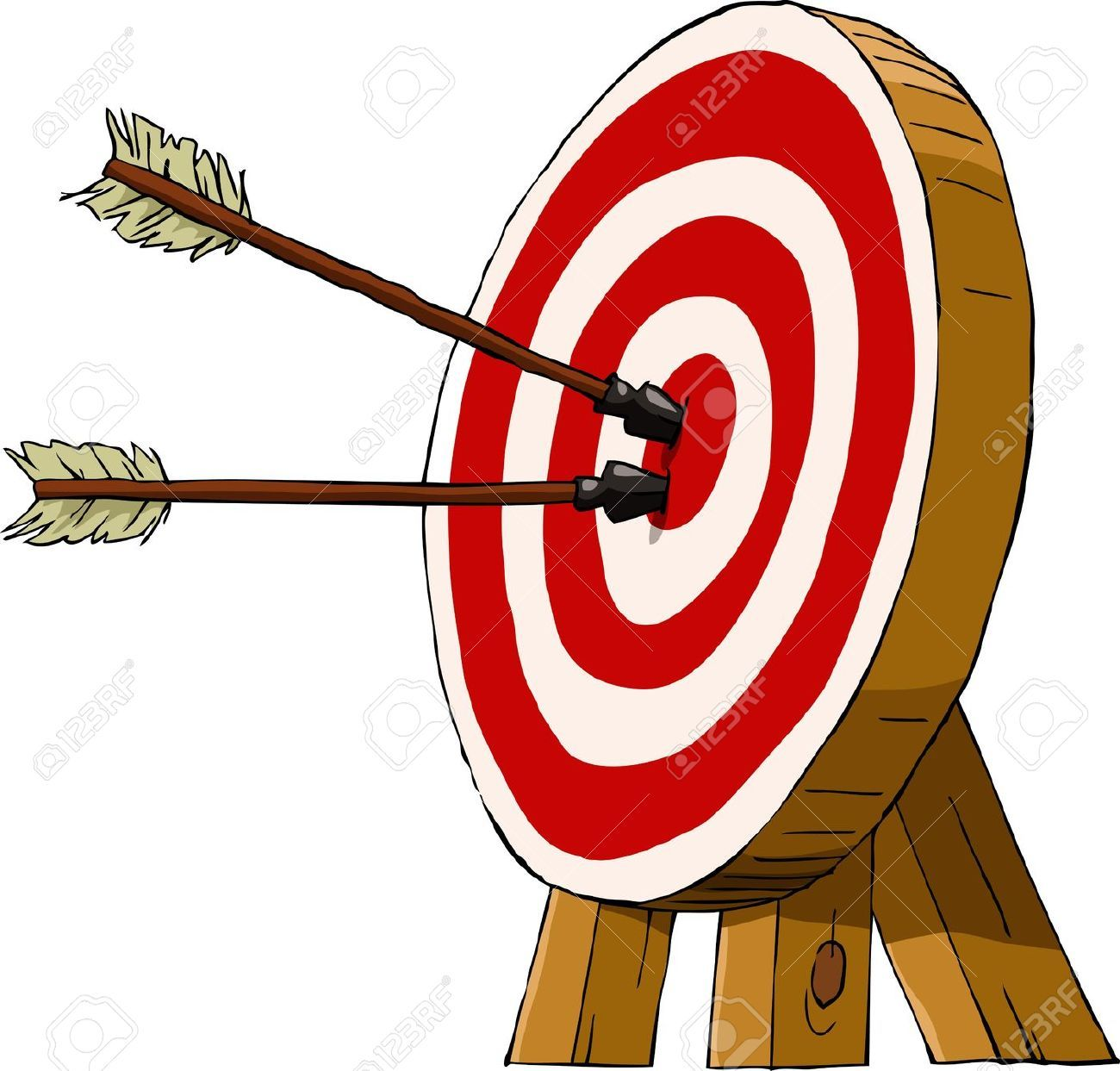 graphic royalty free stock Archery clipart. Cliparts stock vector and