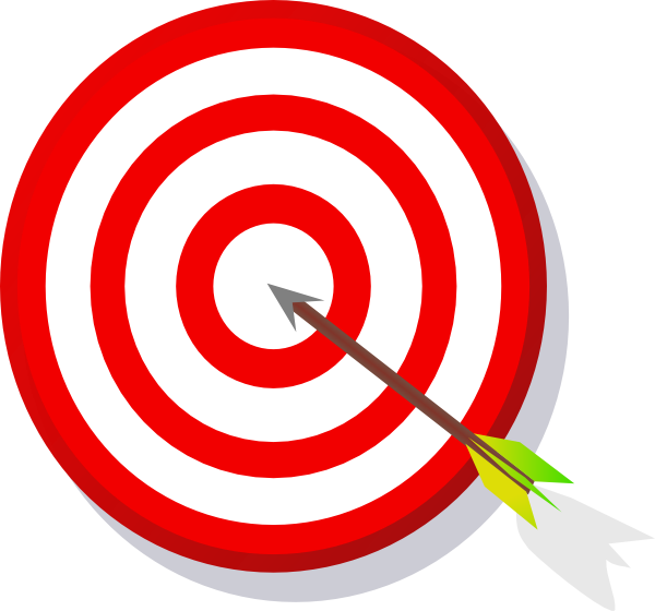 clip art transparent stock Transparent target bullseye. Archery clipart bulls eye