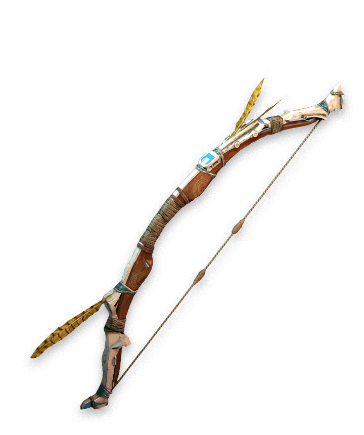 vector freeuse stock Spear transparent dawn. Hunter bow horizon zero