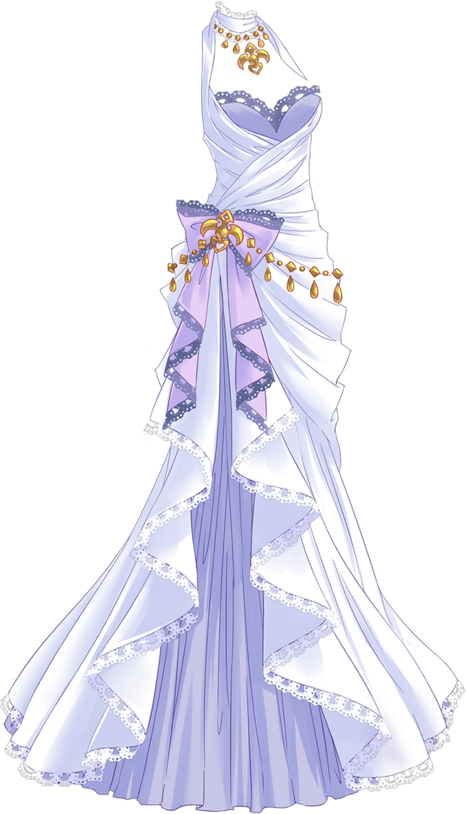 image library download White dress body jewelry. Drawing princess outfits