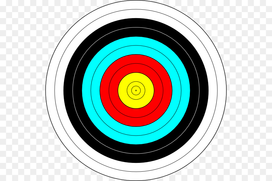 svg library stock Circle background arrow bullseye. Archery target clipart.