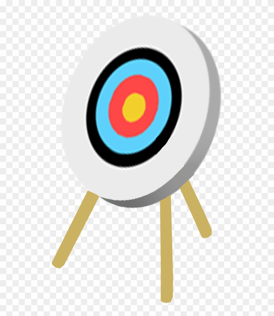 picture black and white library Archery target clipart. Bow and arrow png