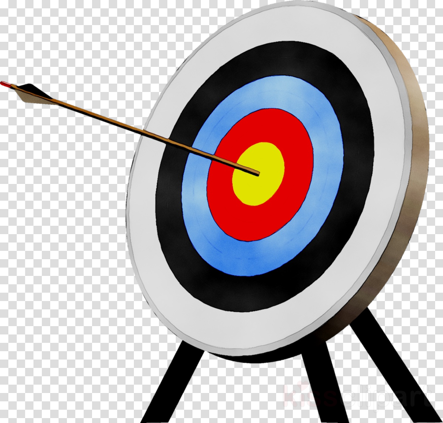 banner stock Clipart archery sports . Transparent target arrow