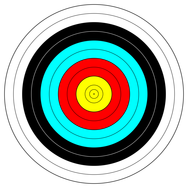 image royalty free library Transparent target archery. Shooting targets bow and