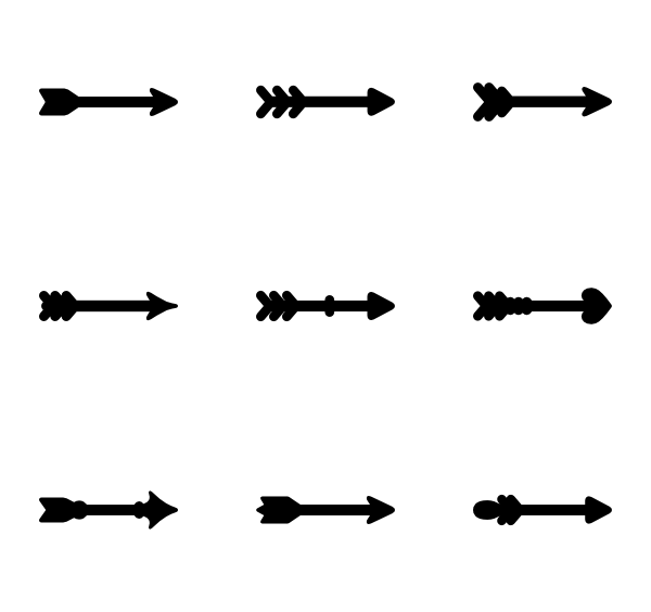 clip art royalty free download medieval vector arrow #99616866