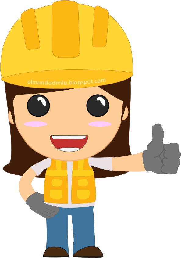clipart royalty free stock Engineer professions designs pinterest. Female clipart builder