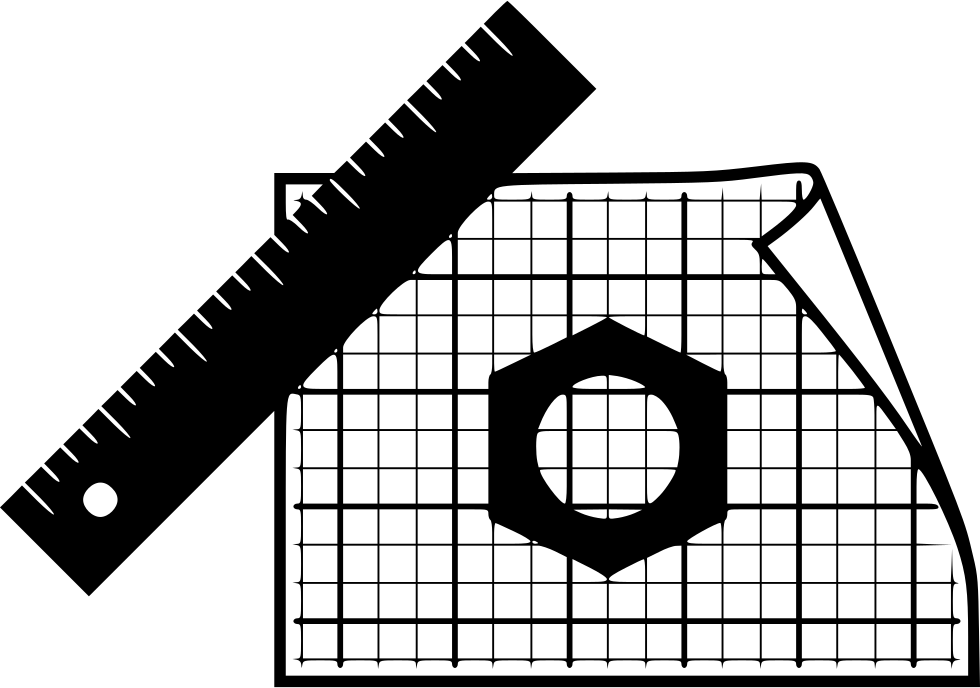svg black and white download Architect clipart technical drawing. Engineering architecture design