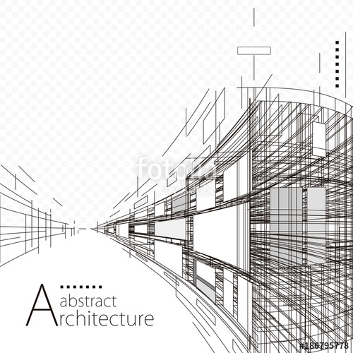 clipart transparent Construction perspective designing black. Architecture vector