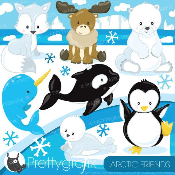 jpg black and white download Buy get commercial use. Arctic animal clipart