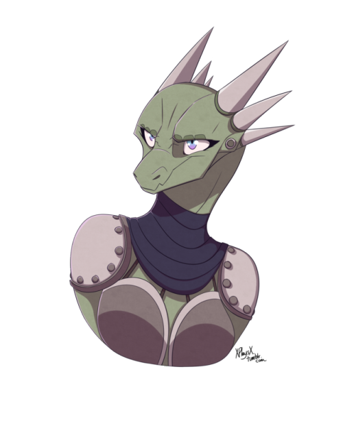 clipart transparent stock Female tumblr i wanted. Argonian drawing