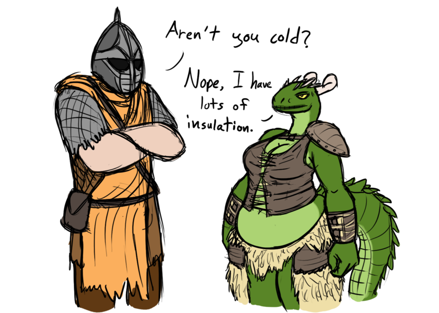 graphic royalty free stock Insulation by blanham on. Argonian drawing fan art
