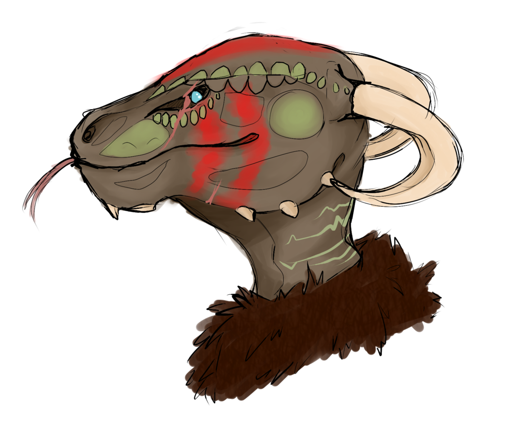 jpg freeuse Argonian Head by OhHadivist on DeviantArt