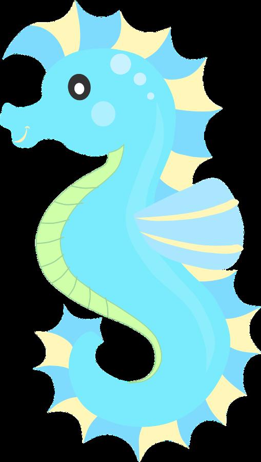 picture transparent Ariel clipart seahorse.  ocean safari c.
