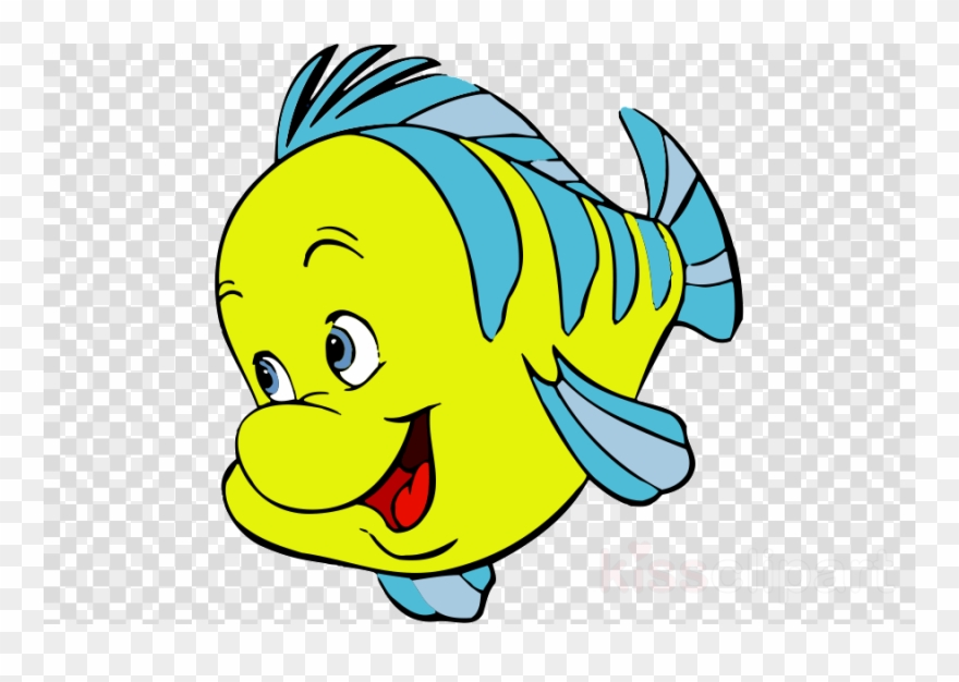 free library Flounder little mermaid . Ariel clipart sebastian clipart