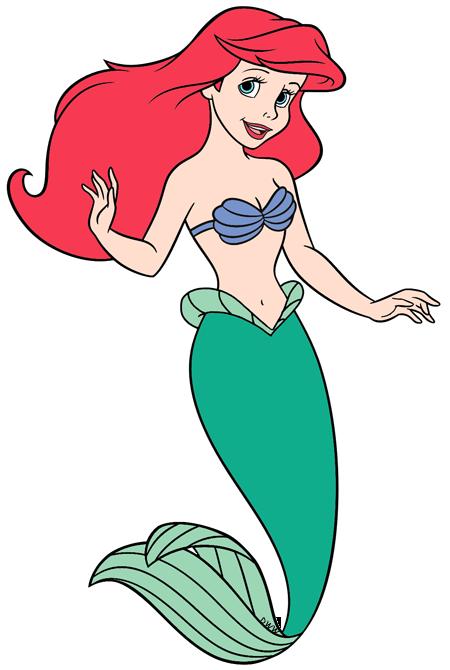 graphic Mermaid clip art disney. Ariel clipart