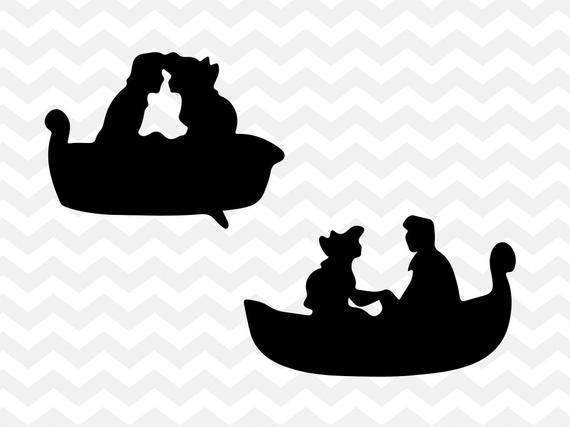 vector freeuse download Boat svg little. Ariel and eric disney