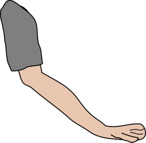 jpg stock Left arm download. Elbow clipart.