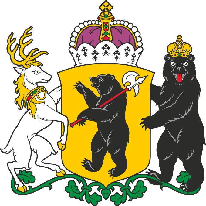 picture free Arm clipart arm span. Coat of arms yaroslavl.