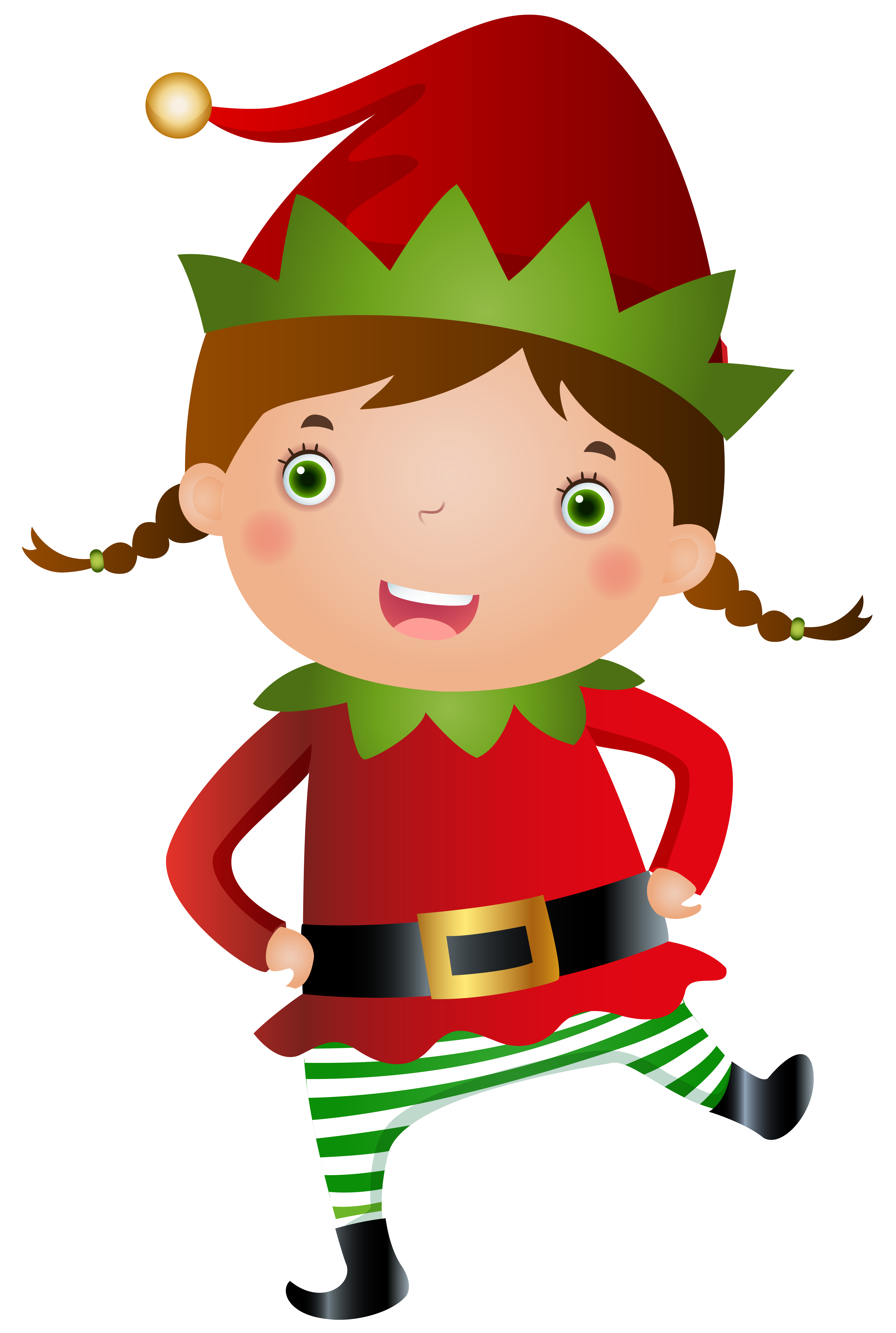 clip art transparent library Elf clipart black and white.  collection of girl
