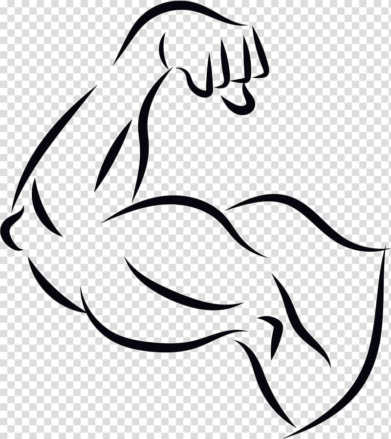 clipart transparent Computer file a strong. Arm muscle clipart