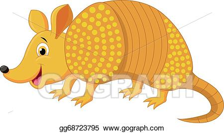 image download Transparent . Armadillo clipart animated