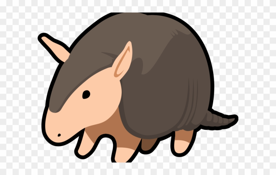 vector library stock Armadillo clipart animated. Cute png transparent