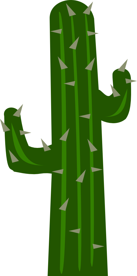 image black and white stock Cactus clip art misc. Western scenery clipart