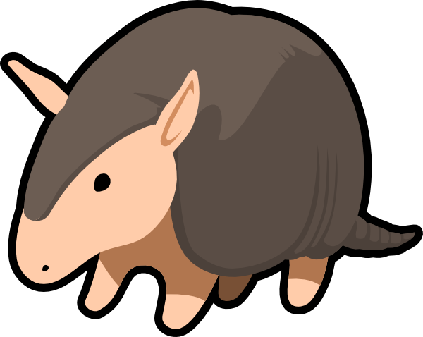 clip art stock Panda free images. Armadillo clipart animated