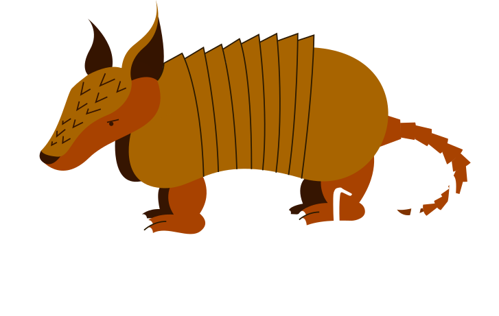 banner freeuse library Brewing company kingsland s. Armadillo clipart simple.