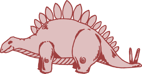 clip art library Armadillo clipart simple. Pink stegosaurus clip art.