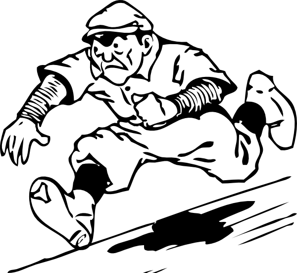 image free library Free baseball running for. Umpire clipart cartoon