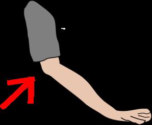 clip art transparent Elbow With Arrow Clip Art at Clker