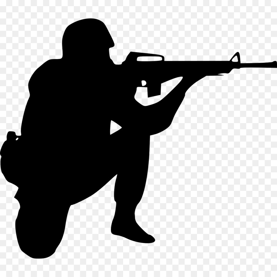 vector download Army black and white clipart. School soldier
