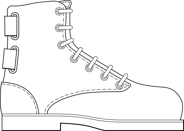 png transparent stock Boot Shoe Clothing Clip Art at Clker