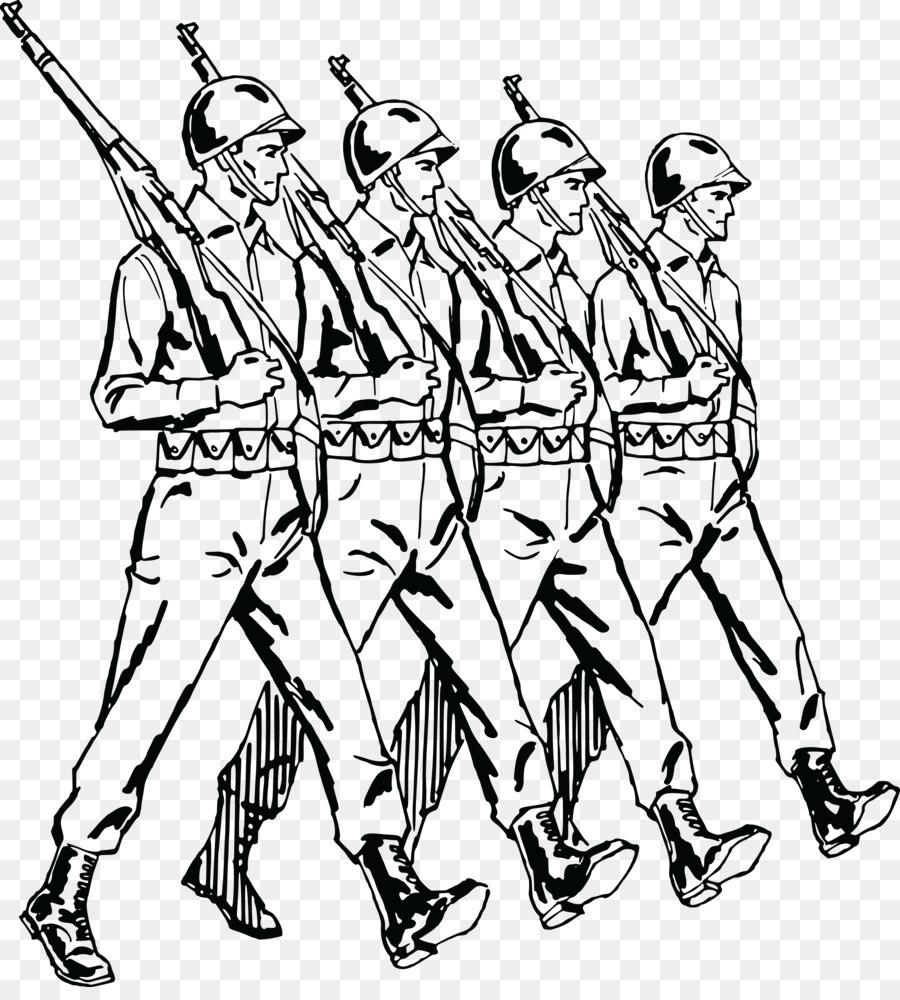 jpg free Station . Army clipart black and white