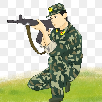 picture royalty free download Png format clip art. Army clipart images