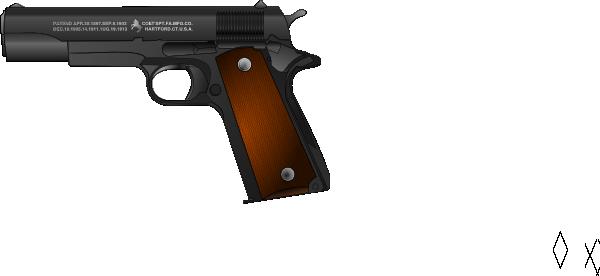 clip free library Army gun clipart. Pistol clip art at