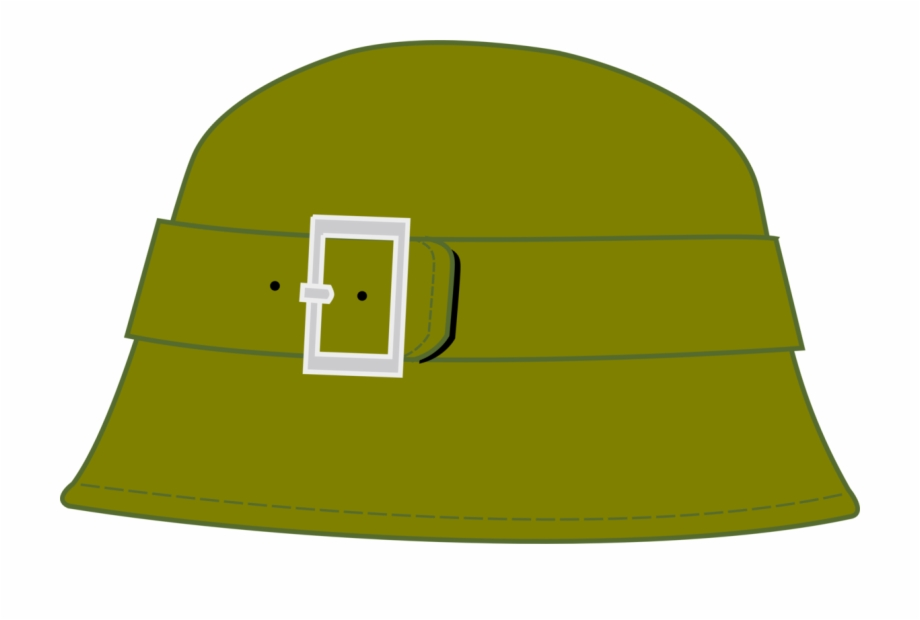 jpg freeuse library Soldier military cap clip. Army hat clipart.