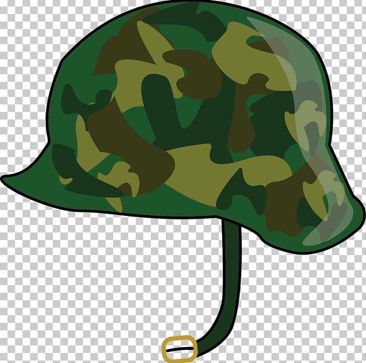 vector stock Combat soldier png camouflage. Army helmet clipart