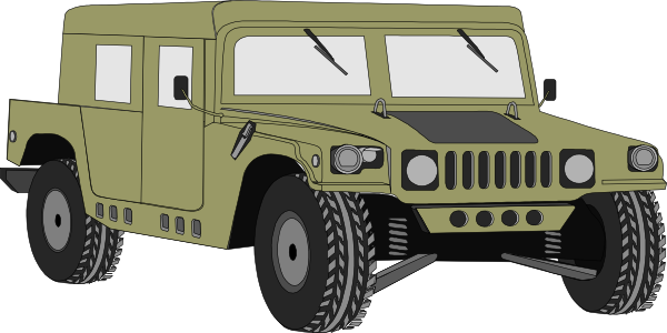 svg free stock Hummer clip art at. Army jeep clipart.