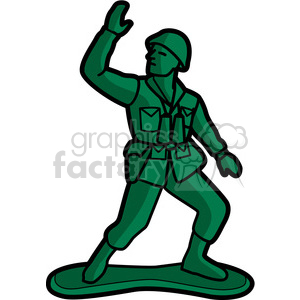 graphic library stock Toy soldier illustration graphic. Army man clipart
