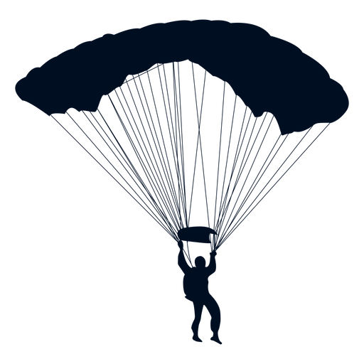clip freeuse library At getdrawings com free. Parachute vector silhouette
