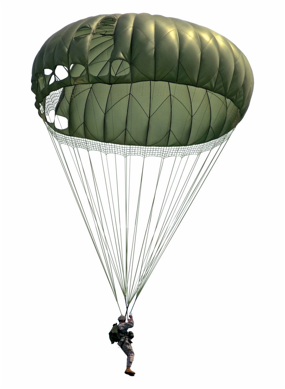 graphic Army parachute clipart. Transparent military png clip