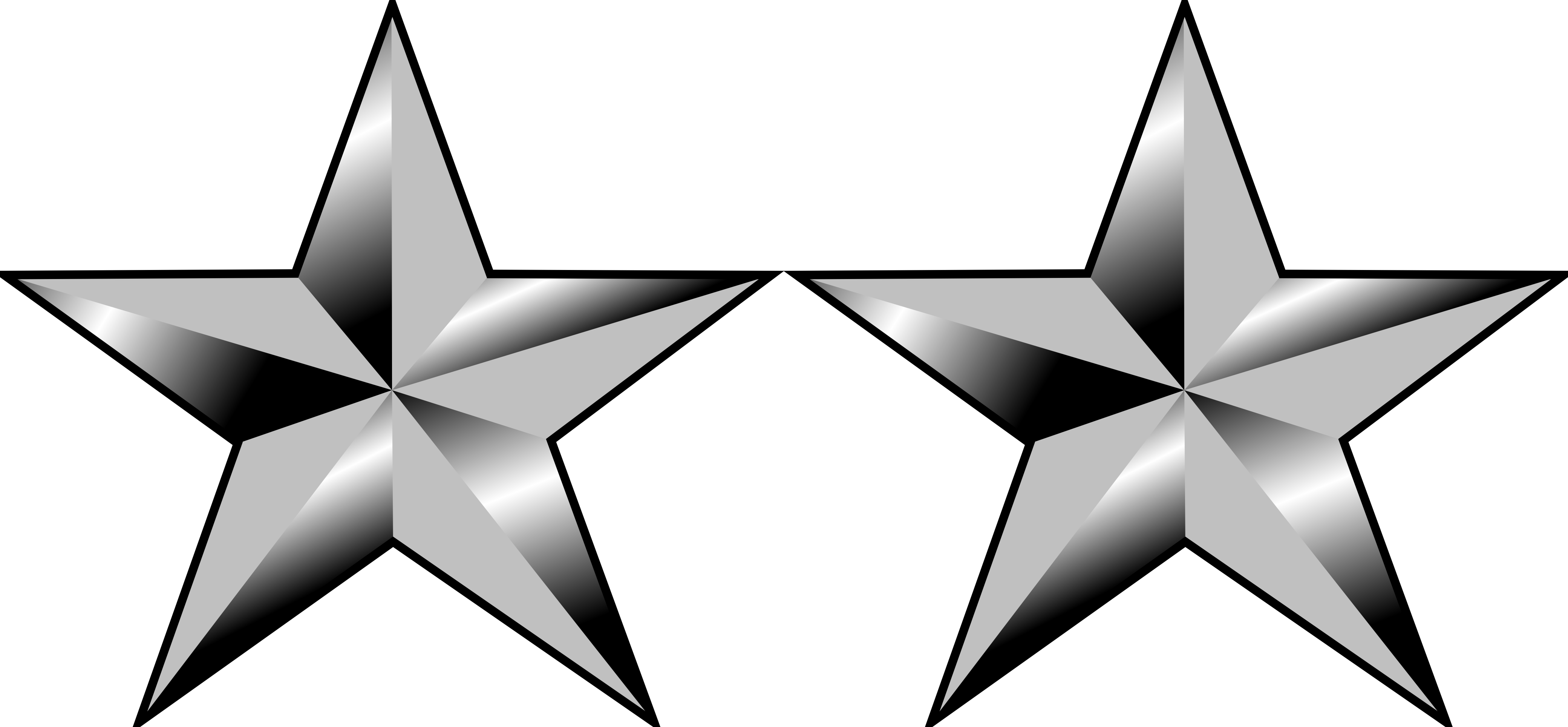 clip freeuse library Army star clipart. U s officer ranks.