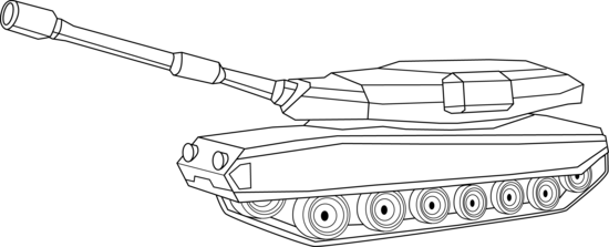 black and white library Army tank clipart black and white. Soldier pencil in color