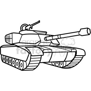 svg black and white Army tank clipart black and white. Military outline royalty free.
