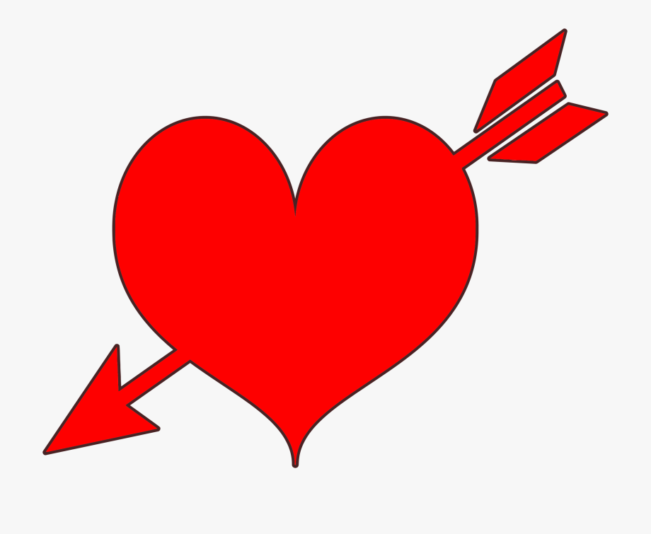 clip art freeuse Png for our users. Arrow and heart clipart