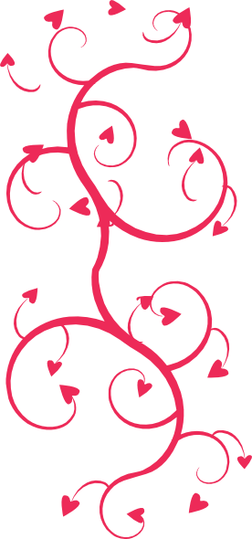 picture free stock Hearts swirls clip art. Arrow and heart clipart